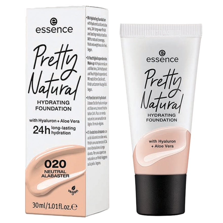 PRETTY NATURAL HYDRATING FOUNDATION 020